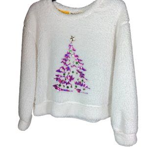 Wallflower Sequin Christmas Tree Sweater
